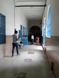 Oncológico Luis Razetti. Pasillo. Foto: Alejandra Suárez.