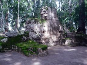 Muro templo de Nuestra Señora de la Presentación. Foto Mildred Maury.