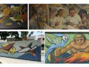 Murales de Braulio Salazar en Valencia. Carabobo
