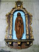 Nuestra Señora De la Presentación, patrona amorosa de San Felipe. Traída de España, la imagen fue recuperada de la llamada Iglesia matriz que estaba ubicada donde está ahora la catedral. Foto: Mildred Maury.