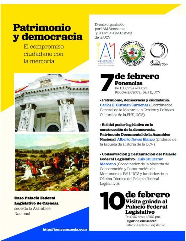 foro Asamblea Nacional y patrimonio feb 2017