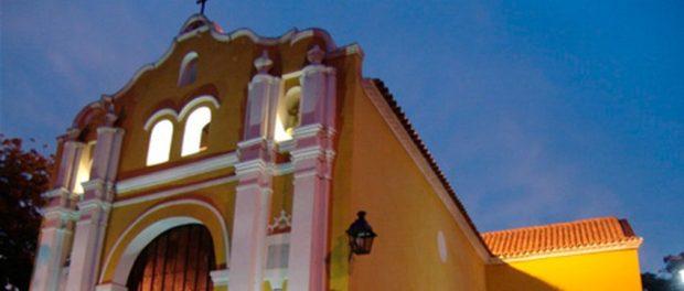 Iglesia de San Clemente, pionera en la evangelización de Latinoamérica. Foto Francisco Colina.