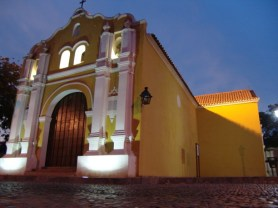 Iglesia San Clemente, casco histórico de Coro. Foto Francisco Colina Cedeño.