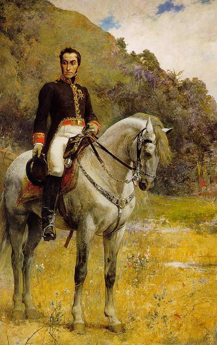 Retrato ecuestre de Bolívar