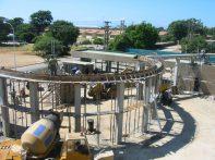Trabajos de remodelación, en 2007. Foto Ismael Granadillo