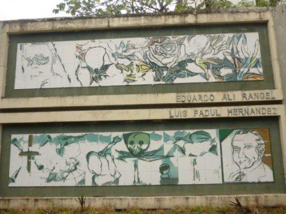 Mural de la Poesía al día de hoy. Foto Marinela Araque Rivero.