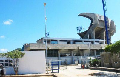 Instalaciones del estadio Nueva Esparta. Foto Ismael Granadillo.