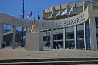 La fachada actual del Estadio Nueva Esparta. Foto: Alejandro Van Schermbeek/Cadena Capriles