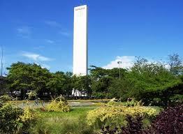 Áreas verdes del monumento.