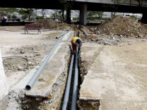 Trabajos de la alcaldía de Iribarren convierten el Obelisco en eje del Parque Barquisimeto.