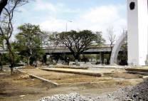 Restauran el obelisco para el 463 aniversario de Barquisimeto. Foto Alcaldía de Iribarren.