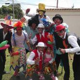Actividad circense en el centro Visagra.