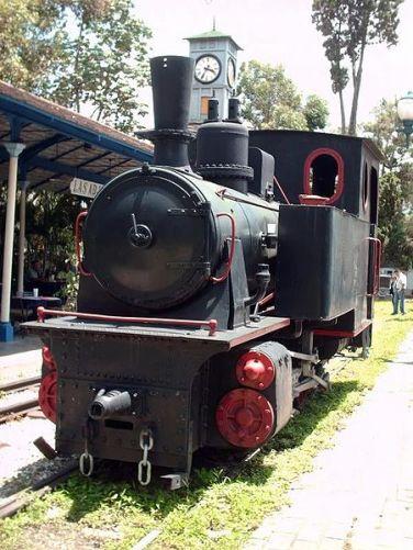Museo del Transporte Guillermo José Schael, Caracas. Patrimonio cultural de Venezuela.