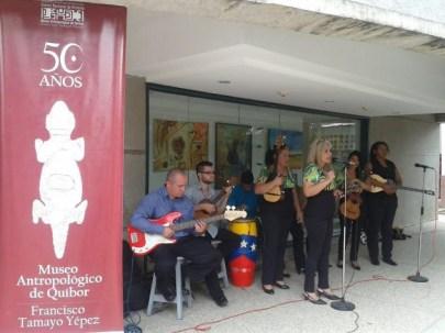 El Centro Nacional de la Historia convocó a investigadores, docentes y comunidad al evento por el medio siglo del museo. Foto MPPC.