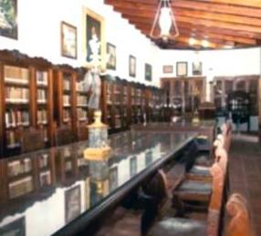 Casa del Decreto de Guerra a Muerte, histórico interior.