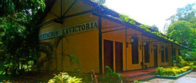Casa de La Estación o antigua estación del ferrocarril. Foto David Márquez.