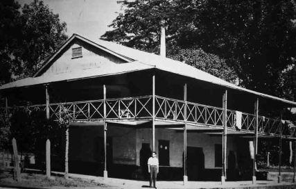 Ferrocarril Bolívar. Estación San Felipe. Colección Willians Ojeda García. Aporte Glabuber Rojas a RielesVenezuela
