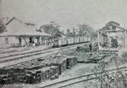 Estación El Hacha del Ferrocarril Bolívar. Foto dig. @Fundea para @RielesVenezuela.