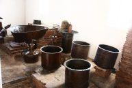 pailas elaboradas en hierro colado y bronce. Foto MPPC.