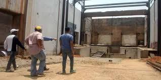 La estructura interior del Teatro Ribas fue demolida. Foto @TareckPSUV.