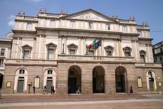 Teatro de La Scala de Milán.