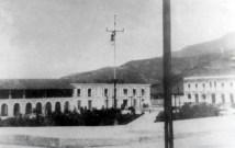 Casa Rosada, hoy Casa de la Cultura Juan Félix Sánchez en la década del 30. Foto ULA, dig. Frank Gavidia.