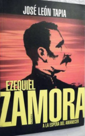 """Ezequiel Zamora a la espera del amanecer""."