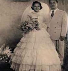 Su boda con Dolores, el amor de su vida. Foto Revista Venezolana de Historia de la Medicina.