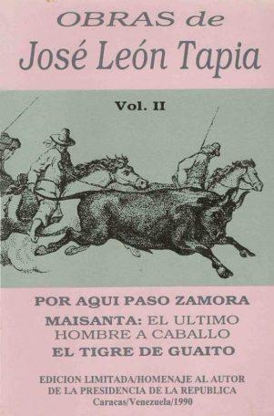 Obras de José León Tapia. 1990. Digitalización Marinela A.
