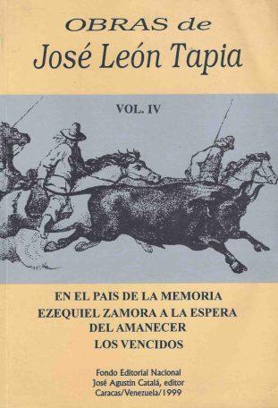 Obras de José León Tapia. 1999. Digitalización Marinela A.