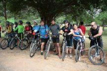 El JBM promueve el paseo en bicicleta en sus instalaciones.