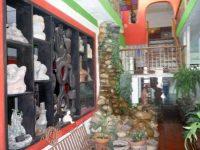 Salón interno, planta baja, del MAVHA. Barinas, estado Barinas. Foto M. Araque.