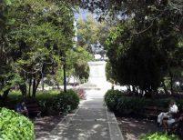 Avenida central del costado noroeste de la plaza Bolívar de Mérida. Patrimonio histórico de Venezuela.