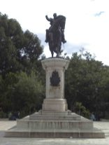 Cara frontal del monumento a Bolívar. Foto Samuel Hurtado Camargo, 28 de mayo de 2017