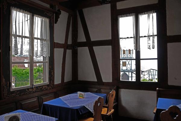 Detalle del restaurante Benitz. Foto: José Luis Rosales.