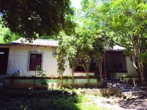 Casa de El Mamón, donde supuestamente naciera José Rafael Revenga. Foto IPC.