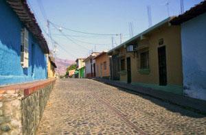 Centro histórico de San Sebastián de Los Reyes, Aragua. Patrimonio cultural venezolano.