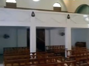 Coro de la capilla Madre Ràfols, de las Hermanas de la Caridad de Santa Ana. Comunidad de Valera, Trujillo, Venezuela