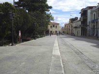 Costado noreste de la plaza Bolívar de Mérida. Patrimonio histórico de Mérida, Venezuela.