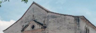 Detalle del techo de la catedral Nuestra Señora de La Asunción, del estado Nueva Esparta.
