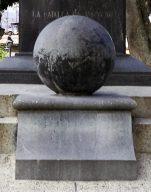Esfera de la cara posterior. Foto Samuel Hurtado Camargo, 28 de mayo de 2017