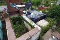 Algunas tumbas profanadas en el cementerio municipal de Valera. Trujillo, Venezuela.