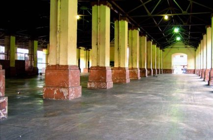 Mercado de Capacho Nuevo, vista interior. Municipio Independencia, estado Táchira. Venezuela.