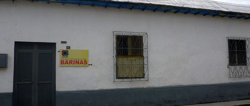 La fachada del Museo Municipal José León Tapia, antes del despojo de su placa. Foto Marinela Araque, junio 2017.