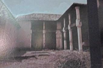 Vista interior de Casacoima antes de su restauración. Portuguesa, Venezuela.