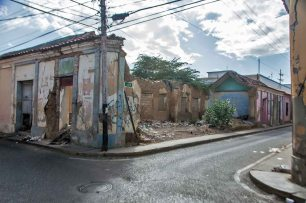 Coro - La Vela, Patrimonio Cultural de la Humanidad, en la Lista del Patrimonio en Peligro, de la UNESCO. Falcón, Venezuela.