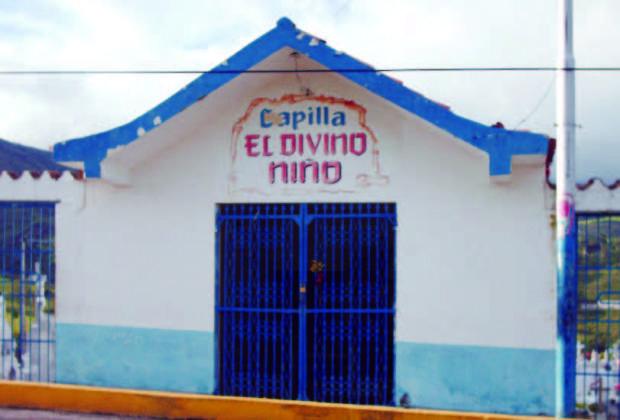 Capilla el Divino Niño, bien patrimonial de Capacho Nuevo, estado Táchira. Venezuela.