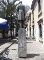 Monumento al Rector Heroico. Patrimonio de Mérida, Venezuela.