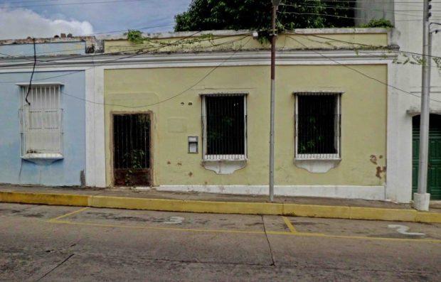 Casa Agosto Méndez. Foto Américo Fernández. Bien cultural del estado Bolívar. Patrimonio en riesgo de Venezuela.