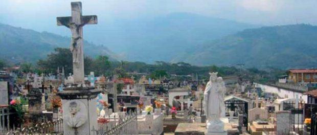 Cementerio municipal de Boconó. Patrimonio cultural del estado Trujiilo, Venezuela.